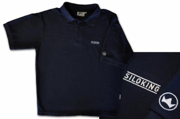 SILOKING Herren-Poloshirt blau